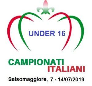 CAMPIONATI ITALIANI - CIG UNDER 16 - SALSOMAGGIORE: 7 - 14 LUGLIO 2019